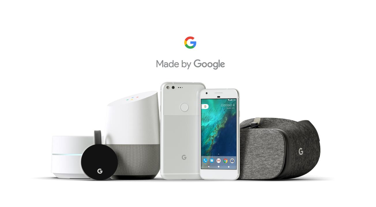 "Présentation ""Made by Google"""